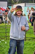 Damon Michael Gough - Badly Drawn Boy backstage at V2002, Hylands Park, Chelmsford, Essex, Britain - 17 August 2002