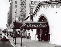 1936 Brown Derby Restaurant on Vine St.