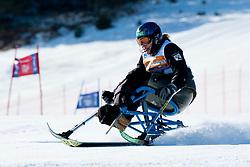 CARPANEDO NOIREAU Nathalie, ESP, Giant Slalom, 2013 IPC Alpine Skiing World Championships, La Molina, Spain