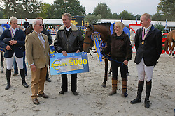 Greeve Michael - Ubalia, Johan Heins, Leon Melchior<br /> World Championship Young Horses Lanaken 2008<br /> Photo Copyright Hippo Foto