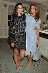 Left to right, KATIE KEIGHT and KATY WICKREMESINGHE at a the Fortnum's X Frank private view - an instore exhibition of over 60 works from Frank Cohen's collection at Fortnum & Mason, 181 Piccadilly, London on 12th September 2016.