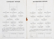 Munster Hurling Championships.Tipperary v Waterford.Thurles, Co. Tipperary.20.05.1973.20th May 1953