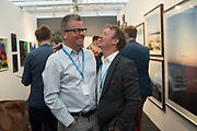 HARRY CORY WRIGHT; CHARLIE PHILLIPS, Opening of Photo London, 2018. Somerset House. London. 16 May 2018