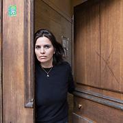 Piccolo Teatro Grassi, Milano, Italia, 2 Aprile 2021. Carlotta Viscovo, 43 anni, attrice.