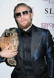 UFC Featherweight Interim Champion, Conor McGregor at The UFC 189 After Party at Foxtail Nightclub in Las Vegas, Nevada.