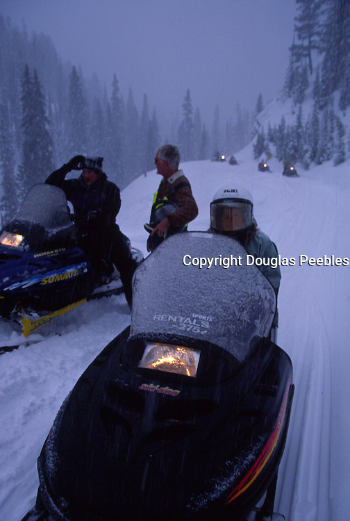 Snowmobile, Montana<br />