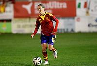 Fifa Womans World Cup Canada 2015 - Preview //  Friendly Match -<br /> Spain vs New Zealand 0-0  ( Municipal Stadium - La Roda , Spain ) <br /> Priscila Borja of  Spain