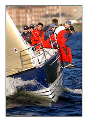 Yachting- The start of the Bell Lawrie Scottish series 2002 at Gourock racing overnight to Tarbert Loch Fyne where racing continues over the weekend.<br /><br />Tundra - X 332 GBR3072C Class 3<br /><br />Pics Marc Turner / PFM