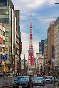 Tokyo TV Tower, Roppongi, Tokyo, Japan