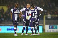 Adrien Regattin / Dragos Grigore - 28.02.2015 - Toulouse / Saint Etienne - 27eme journee de Ligue 1 -<br />Photo : Manuel Blondeau / Icon Sport