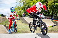 #5 (CHRISTENSEN Simone Tetsche) DEN at Round 4 of the 2019 UCI BMX Supercross World Cup in Papendal, The Netherlands