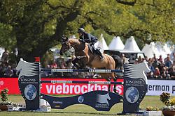 Krieg Niklas, (GER), Carella<br /> Longines Global Champions Tour - Grand Prix of Hamburg<br /> Hamburg - Hamburger Derby 2016<br /> © Hippo Foto - Stefan Lafrentz