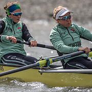 .Sophie Deans , Cambridge Womens crew. (second from left)<br /> <br /> Crews prepare for Sunday's 165th Boat Race between Oxford and Cambridge, River Thames, London, Thursday 4th April 2019. © Copyright photo Steve McArthur / www.photosport.nz