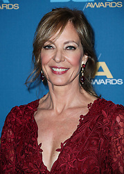 BEVERLY HILLS, LOS ANGELES, CA, USA - FEBRUARY 03: 70th Annual Directors Guild Of America Awards held at The Beverly Hilton Hotel on February 3, 2018 in Beverly Hills, Los Angeles, California, United States. 03 Feb 2018 Pictured: Allison Janney. Photo credit: IPA/MEGA TheMegaAgency.com +1 888 505 6342