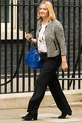 Downing Sreet, London, July14th 2015. Amber Rudd - Secretary of State for Energy and Climate Change arrives at 10 Downing street for the government's weekly cabinet meeting.