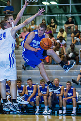 23 June 2012: Peyton Wyatt.  Illinois Basketball Coaches Association (IBCA) All Star game at Shirk Center, Illinois Wesleyan, Bloomington, IL