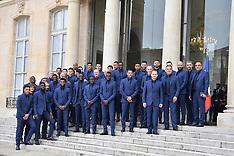 Elysee World Cup Winners Legion D'honneur Ceremony - 4 June 2019