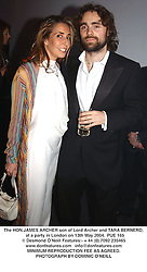 The HON.JAMES ARCHER son of Lord Archer and TARA BERNERD,  at a party in London on 13th May 2004.PUE 165