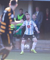 Hearts scorer Adam Eckersley.<br /> Alloa Athletic 0 v 1 Hearts, Scottish Championship played at Recreation Park, Alloa.