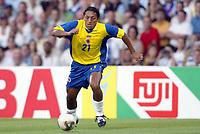 FOOTBALL - CONFEDERATIONS CUP 2003 - GROUP A - 030618 - FRANKRIKE v COLOMBIA - JAIRO PATINO (COL) - PHOTO GUY JEFFROY / DIGITALSPORT