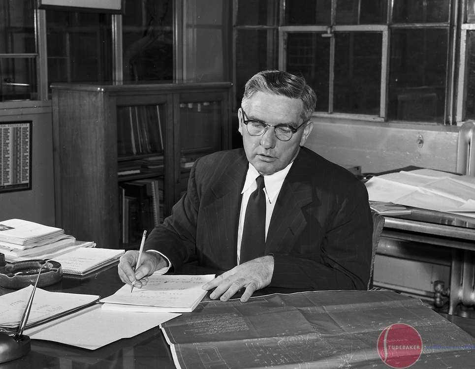 Studebaker executive Harold Churchill.