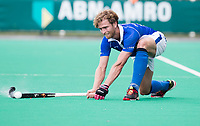 ROTTERDAM -  Floris de Ridder (Kampong)   tijdens de wedstrijd om de derde plaats , Kampong- Oranje Rood , bij de ABN AMRO cup. COPYRIGHT KOEN SUYK