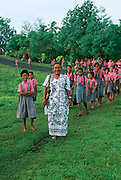 Vaiee School, Vaiee, Upolu, Samoa, (editorial use only- no model release)<br />