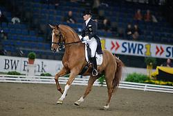 Schulten Baumer Ellen (GER) - Donatha S<br /> CDI-W Stuttgart German Masters 2009<br /> Photo© Dirk Caremans