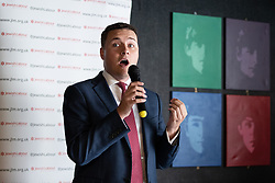 © Licensed to London News Pictures . 23/09/2018. Liverpool, UK. WES STREETING MP at a rally by The Jewish Labour Movement at The Liverpool Pub in central Liverpool during the first day of the 2018 Labour Party Conference . Photo credit: Joel Goodman/LNP