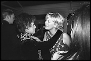 LADY CARLA POWELL; JANE PROCTER, , Tatler Bafta party hosted by Jane Procter and Charles Finch. Lola's. Upper St. London. April 1999.