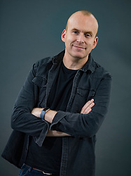 Matt Haig appears at the 2019 Edinburgh International Book Festival.<br /> <br /> The modern world can make us feel like the walls are closing in, but a vanguard of writers are here to help us cope – and none more so than Matt Haig. After the storming success of Reasons to Stay Alive comes Notes on a Nervous Planet, a wise and witty guide to kicking the habits around everything from sleep to social media to work that are making us less happy. Enjoy an hour that will soothe your 21st century anxieties. <br /> <br /> © Dave Johnston / EEm