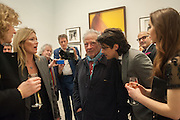 KATE MOSS; DAVID BAILEY; FENTON BAILEY, Opening of Bailey's Stardust - Exhibition - National Portrait Gallery London. 3 February 2014