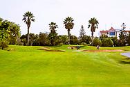 08-10-2015 -  Foto van Goedbewaakte greens bij Golf du Soleil in Agadir, Marokko. De 36 holes van Golf du Soleil werden ontworpen door Fernando Muela en Gerard Courbin.