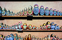 Matrioshka Dolls, Pushkin (16 miles south of St. Petersburg), Russia