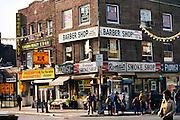 Main St. Flushing, Queens, New York. USA..