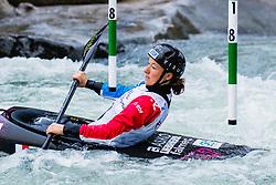 Camille PRIGENT (FRA) during Kayak Semi Finals at World Cup Tacen, 17 October 2020, Tacen, Ljubljana Slovenia. Photo by Grega Valancic / Sportida