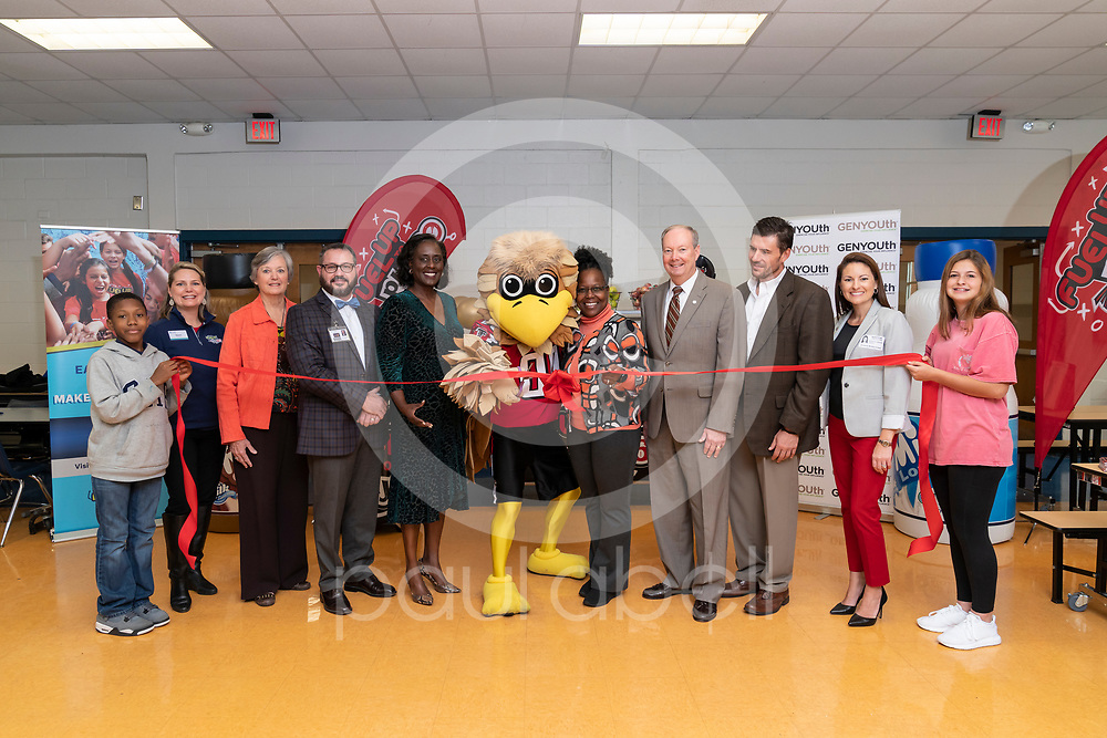 General images from the GENYOUth's Legacy 53 ribbon cutting event at Walter Alan Richards Middle School, Monday, Nov. 4, 2019 in Columbus, GA. (Paul Abell via Abell Images for GENYOUth)