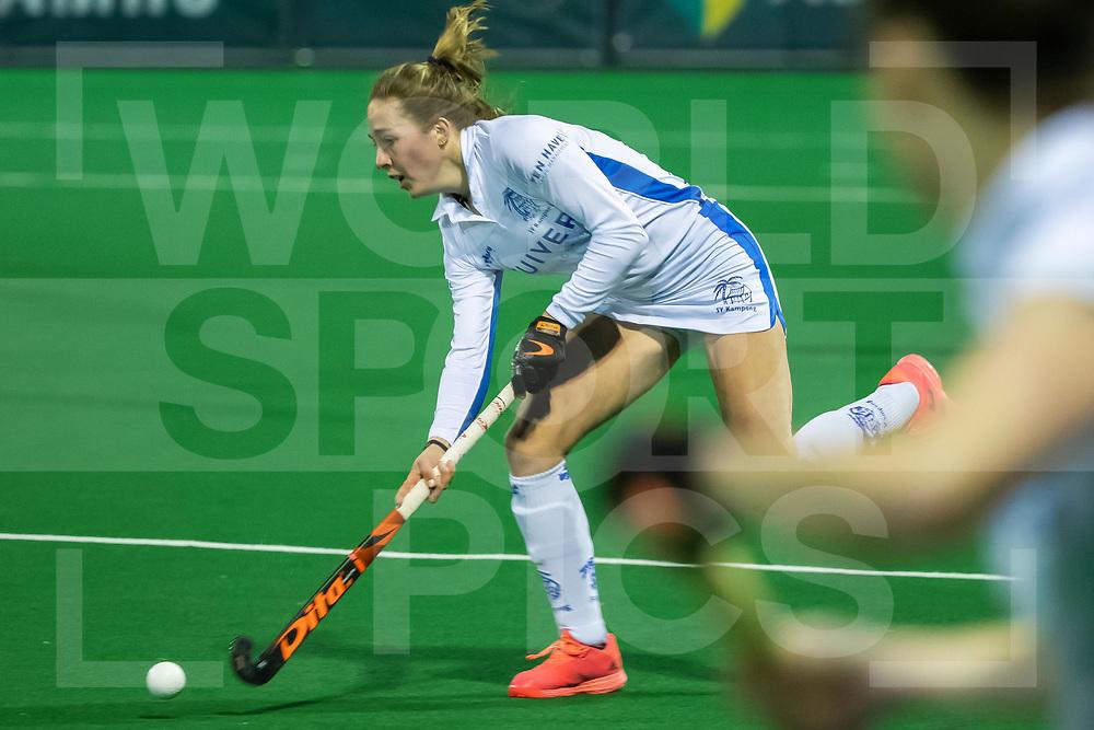 Laren, Hoofdklasse Hockey Dames, Seizoen 2020-2021, 15-04-2021, Laren - Kampong 2-1, Renee van Laarhoven (Kampong)<br /><br /> COPYRIGHT WORLDSPORTPICS WILLEM VERNES