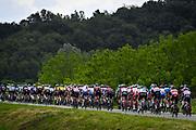 Foto Fabio Ferrari/LaPresse <br /> 23 maggio 2021 Italia<br /> Sport Ciclismo<br /> Giro d'Italia 2021 - edizione 104 - Tappa 15 - Da Grado a Gorizia (km 147)<br /> Nella foto:durante la gara.<br /> <br /> Photo Fabio Ferrari/LaPresse<br /> May 23, 2021  Italy  <br /> Sport Cycling<br /> Giro d'Italia 2021 - 104th edition - Stage 15 - from Grado to Gorizia <br /> In the pic: during the race.