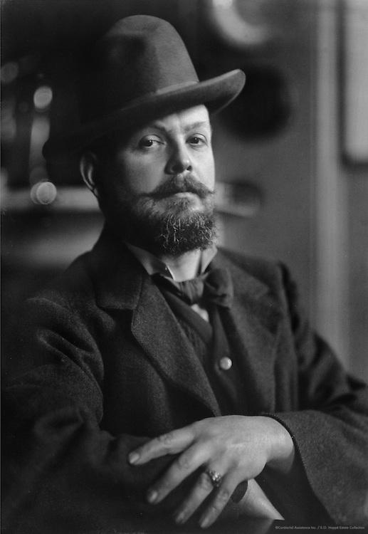 Frank William Brangwyn, artist and mural painter, Britain, 1909