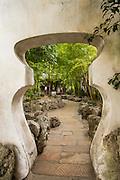 Archway in Yu Yuan Gardens Shanghai, China