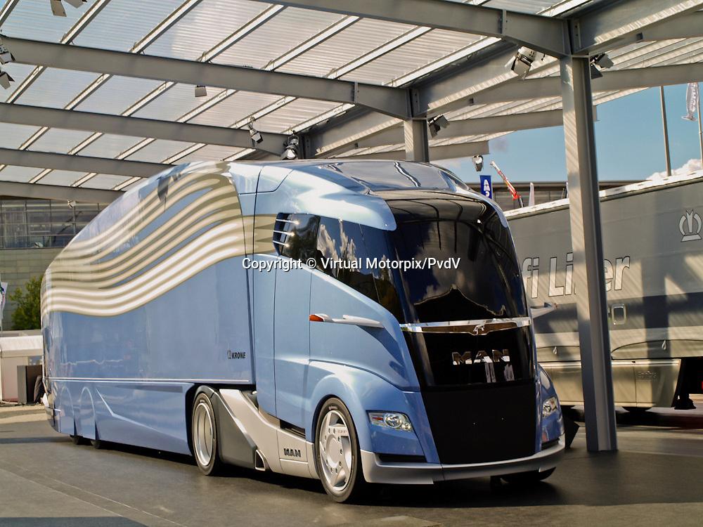 MAN bus (Krone) at the IAA 2012 in Hanover, Germany