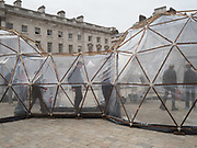Pollution/Atmosphere Exhibit in Somerset House, 24 April 2018