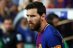 August 20, 2017 - Barcelona, Catalonia, Spain - Leo Messi during La Liga match between F.C. Barcelona v Alaves, in Barcelona, on September 10, 2016. Photo: Edi Capmany/Urbanandsport/Nurphoto  (Credit Image: © Joan Valls/NurPhoto via ZUMA Press)