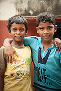 Two Young Friends - Chennai, India