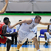 Anadolu Efes's Dusko SAVANOVIC (R) during their Turkey Cup Qualifying basketball second match Anadolu Efes between Pinar Karsiyaka at Aliaga Arena in Izmir, Turkey, Monday, October 10, 2011. Photo by TURKPIX