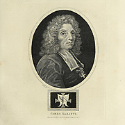 Carlo Maratta or Maratti (13 May 1625 – 15 December 1713) was an Italian painter, active mostly in Rome, and known principally for his classicizing paintings executed in a Late Baroque Classical manner. Copperplate engraving From the Encyclopaedia Londinensis or, Universal dictionary of arts, sciences, and literature; Volume XIV;  Edited by Wilkes, John. Published in London in 1816