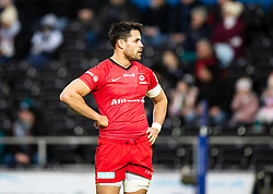Sean Maitland of Saracens<br /> <br /> Photographer Simon King/Replay Images<br /> <br /> European Rugby Champions Cup Round 5 - Ospreys v Saracens - Saturday 11th January 2020 - Liberty Stadium - Swansea<br /> <br /> World Copyright © Replay Images . All rights reserved. info@replayimages.co.uk - http://replayimages.co.uk
