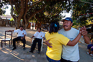 Dancing in a private garden at San Miguel de Velasco