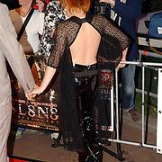 NLD/Utrecht/20060929 - Premiere Sl8n8, Victoria Koblenko in zwarte leren broek
